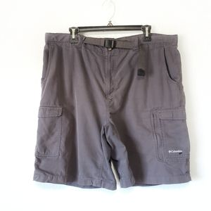 Columbia shorts GRT outdoor hike charcoal mens XL